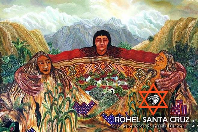 representacion de la magia andina