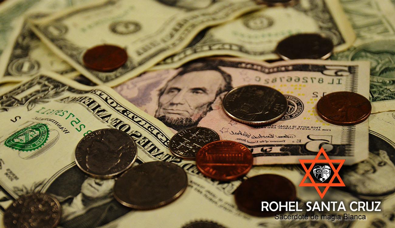 rituales de magia blanca para atraer el dinero