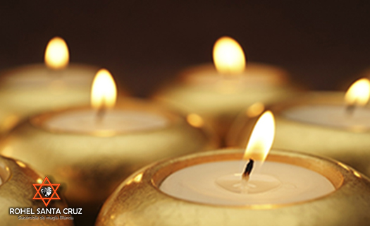 hechizo con velas blancas