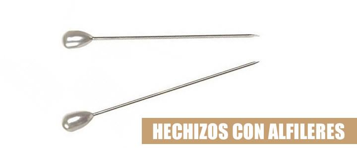 HECHIZOS CON ALFILERES