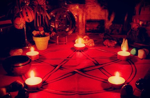 Ritual de Magia Roja